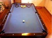 A Fischer Blue - Top Pool Table, Local Bids Only Toledo Ohio, USA