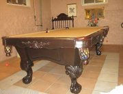 Beautiful Pool Billiards Table Great Condition Plus Extras