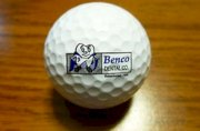 Precept Benco Dental Company Logo Golf Ball