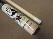 Action ADV81 Lady Luck Tattoo Pool Cue with