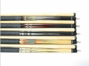 Set Of 5 Pieces Brand New Billiard Maple Pool Cue Stick #A