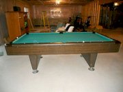 """8 Foot Pool Table 1"""" Thick Slate"""