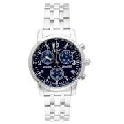 Tissot Men's T-Sport PRC200 Chronograph Stainless Steel Blue Dial Watch #T17.1.586.42