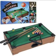 Trademark Games Mini Table Top Pool Table and Accessories - No Assembly Required