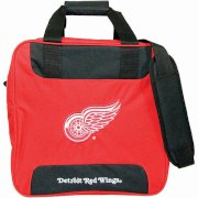 KR NHL Single Tote Red Wings Bowling Bag