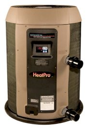 Hayward HP21104T HeatPro 110,000 BTU, 230V, Titanium, Digital, Pool and Spa Heat Pump