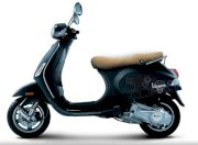 Dán decal xe Vespa Lx Black New 098