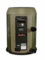 Hayward HP20854T HeatPro 85,000 BTU, 230V, Titanium, Digital, Pool and Spa Heat Pump