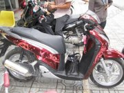 Dán decal xe Sh 150i Butterfly Red