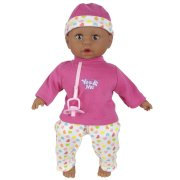 You & Me 15 inch Doll - African American Crying Baby