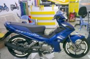 Dán decal xe Exciter Mate Blue