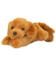 IGB Lazy Brown Dog Soft Toy - 30 cm