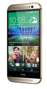 HTC One (M8) (HTC M8/ HTC One 2014) 16GB Gold EMEA Version