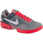 Nike Air Max Cage Men's Stadium Gray/White/Atomic Red/Armory Slate