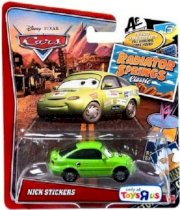 Disney Pixar Cars Radiator Springs Classic Nick Stickers