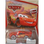 Disney Pixar Cars the World of Cars Lightning Mcqueen with Bumper Stickers #35