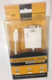 mini HDMI to Vga có Audio hiệu Netline