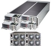 "Server Supermicro SuperServer F627G2-FT+ (Intel Xeon processor E5-2600 and E5-2600 v2 family, RAM Up to 1TB ECC DDR3, HDD 6x 2.5"" Hot-swap SATA, 1620W)"