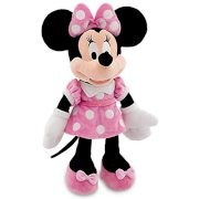 Disney Mickey Mouse Clubhouse Minnie Mouse Plush Toy - Pink Dress -- 19'' H (2012)