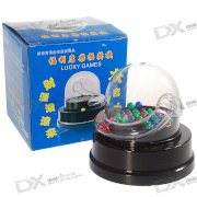 Novelty Automatic Desktop Lottery Numbers Roller Machine (2*AA)