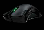 Razer Mamba - Wired/Wireless Ergonomic Gaming Mouse 6400dpi