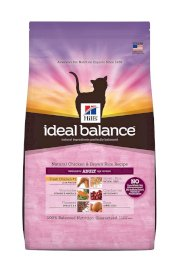Hill's Ideal Balance Natural Chicken and Brown Rice Recipe Adult Cat Dry Food Bag