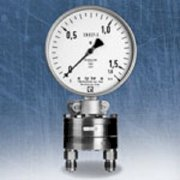 Differential Pressure Gauge with Diaphragm DKU 160