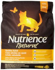 Nutrience Natural Healthy Adult Cat Food, 18-Pound Bag