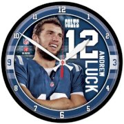 """Wincraft NFL 12.75"""" Andrew Luck Wall Clock"""