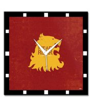 Bluegape Game Of Thrones House Lannister Wall Clock
