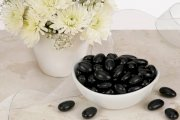 Black Jordan Almonds (5 Pound Bag)