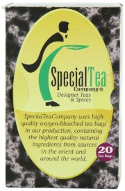 Special Tea Gourmet Tea Bags, English Breakfast Blend, 20 Count