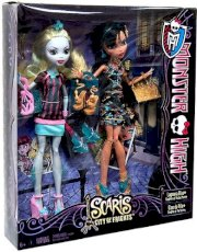 Monster High Scaris Exclusive 2-Pack Lagoona Blue & Cleo De Nile