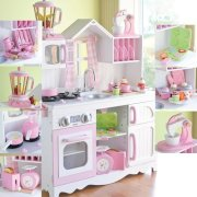 As Cozy As Home Play Kitchen- Complete Set for kids