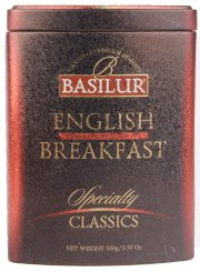 "Basilur English Breakfast Loose Leaf Tea ""Specialty Classics"" in Tin 100g/3.5oz"