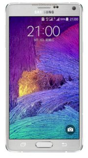 Samsung Galaxy Note 4 (Samsung SM-N910FD/ Galaxy Note IV) Frosted White for United Arab Emirates