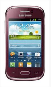 Samsung Galaxy Young S6310 (GT-S6310) Red