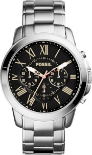 Fossil Men's Chronograph Grant Watch 44mm 65180