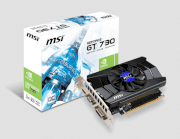 MSI N730K-1GD5/OC (Nvidia GeForce GT 730, 1024MB GDDR5, 64 bits, PCI Express x16 2.0)
