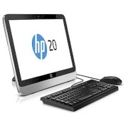 HP Pavilion 20-2224x AiO (K5L71AA) PC Non Touch (Intel Core i3-4160T 3.1Ghz, 4GB RAM, 1TB HDD, Intel HD Graphics 4400, 20 inch, Free Dos)