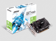 MSI N730-2GD3 (Nvidia GeForce GT 730, 2048MB DDR3, 128 bits, PCI Express x16 2.0)