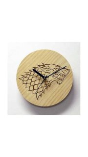Engrave House Stark - Game Of Thrones - Wall Clock
