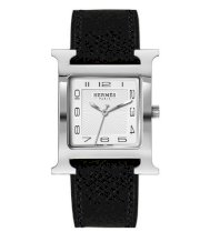 Hermes Midsize Stainless Steel Leather 30.5mm X 30.5mm 63702