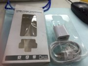 Cáp sạc Iphone 4/4s Usb Charger & Data Cable Combo