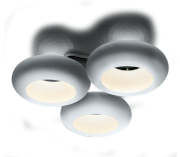 Đèn led ốp trần Aura Three Ceiling 3000K/42W