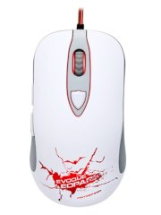 Chuột laser gaming Motoseed V16-1 Evoque Leopard WH màu trắng