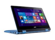 Laptop Acer R3-131T-P6NF-NX.G0YSV.002 (blue) (Intel Pentium N3710 1.60GHz, RAM 4GB, HDD 500GB, VGA Intel HD Graphics, Màn hình 11.6inch Touch, xoay 360, Win10)