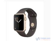 Đồng hồ thông minh Apple Watch Series 1 Sport 42mm Gold Aluminum Case with Cocoa Sport Band
