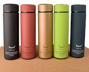 Bình giữ nhiệt BuyNeed Leak Proof Coffee Thermos Vacuum Insulated Cup Drink Bottle 470ml