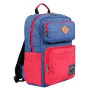 Balo nữ Simplecarry Issac1 Navy/Red